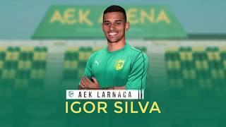 Baixar Lateral-direito Igor Silva é novo jogador do AEK Larnaca