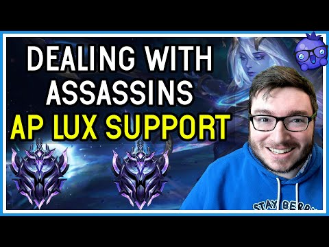 Dealing with pesky assassins as AP Lux Support