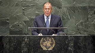 Russian FM Lavrov launches attack on West at United Nations