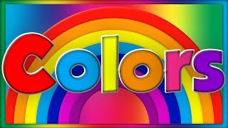 Learn Colors Song | ABC Baby Songs - Learning Colors