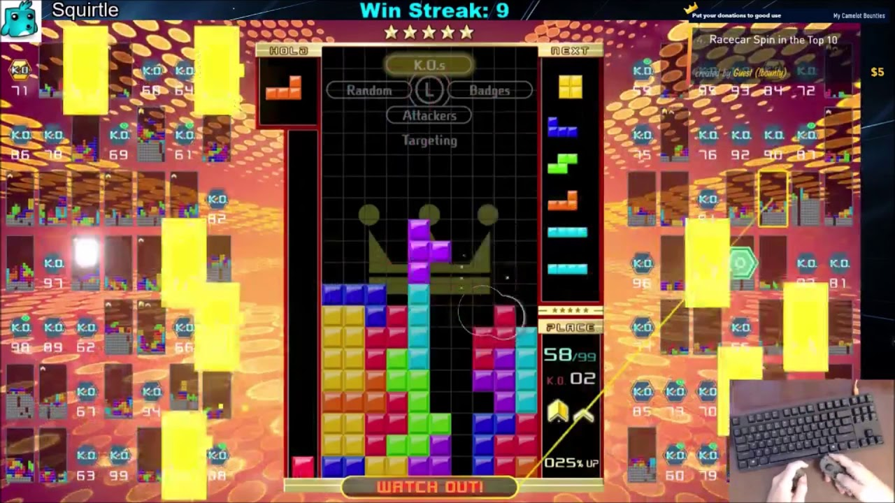 Tetris 99 2 0 Update - First Day - Wumbo