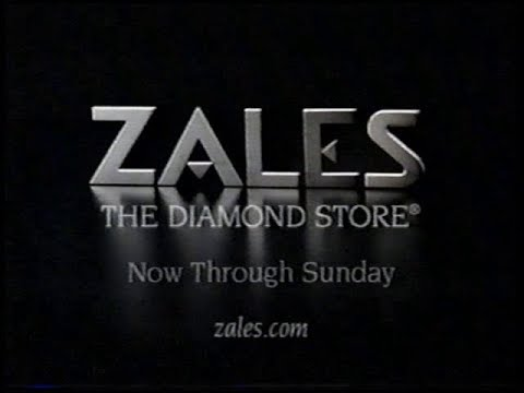 ZALES Holiday Season Sale Commercial (2001)