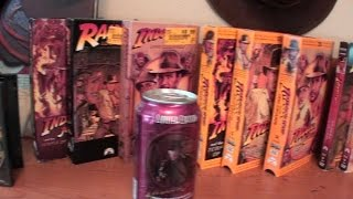Indiana Jones Collection - VHS, DVDs, Toys, Books...