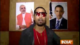 Rap Song on PM Modi and Obama Dedicated by Alee Houstan - India TV