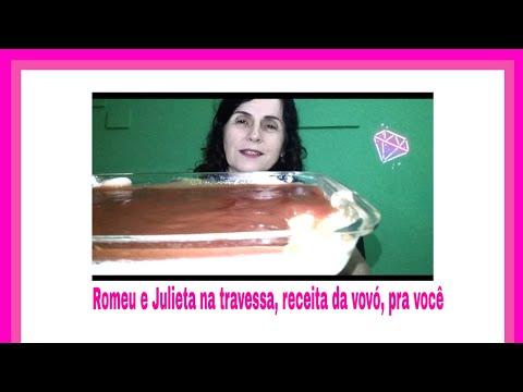 Romeu e Julieta na travessa, receita da vovó, com carinho pra você!!