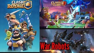 clash of clans and clash royale stream ( next goal 530 subs help me )