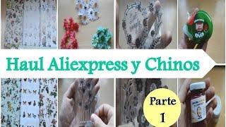 Mega Haul Compras Manualidades Aliexpress y Chinos I Parte 1