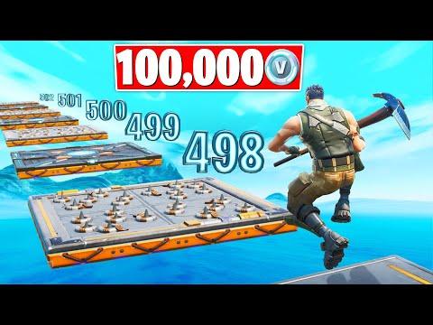 Default DEATHRUN WINNER Gets 100,000 VBucks! (Fortnite Creative Gamemode)