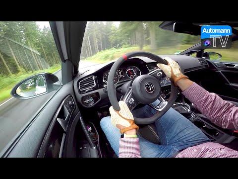 2017 Golf GTI Clubsport (290hp) - Handling DRIVE (60FPS)