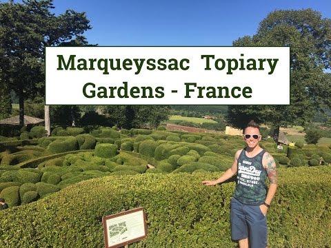 Marqueyssac topiary gardens France