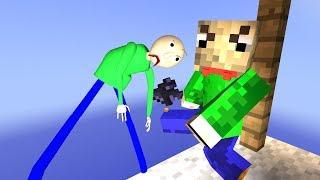 Baldi got your skin in Minecraft? Baldi's basics ragdolls [4] by Cpt.Ragdoll