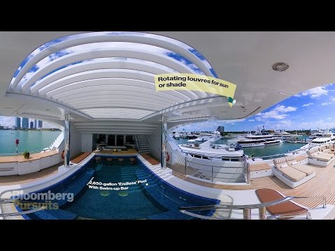 Explore a $79 Million Super Yacht with a 4-Story Elevator in 360