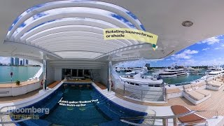 Explore a $79 Million Super Yacht with a 4-Story Elevator in 360 thumbnail