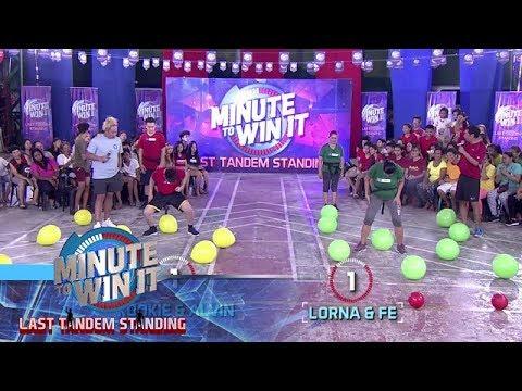 Isang Talong, Isang Sabog | Minute To Win It - Last Tandem Standing