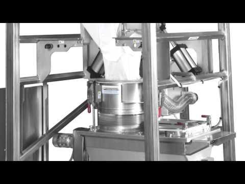 Sanitary Design Bulk Bag Unloader Improves Product Safety, FSMA Readiness