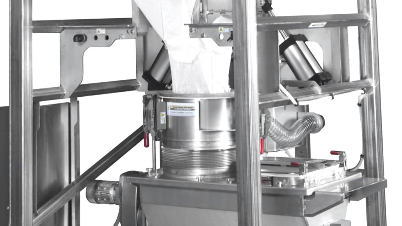 Sanitary Design Bulk Bag Unloader Improves Product Safety