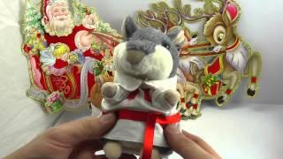 ОБЗОР: Повторюшка Хомяк в Национальной Рубашке (интерактивная мягкая игрушка)