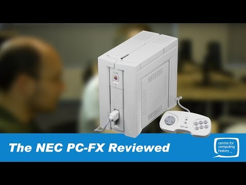NEC PC-FX - Japanese Game Console - Reviewed By Adrian & Phil