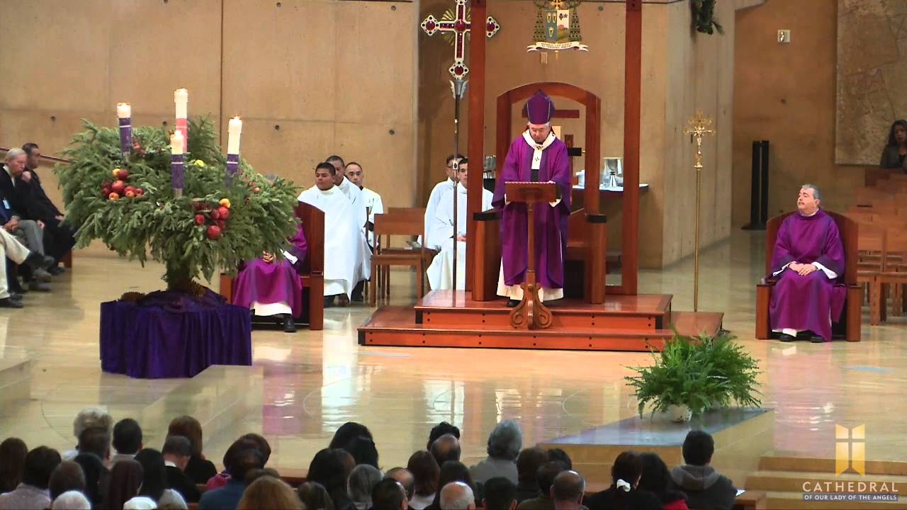 4th sunday of advent homily by archbishop jos h gomez. Black Bedroom Furniture Sets. Home Design Ideas