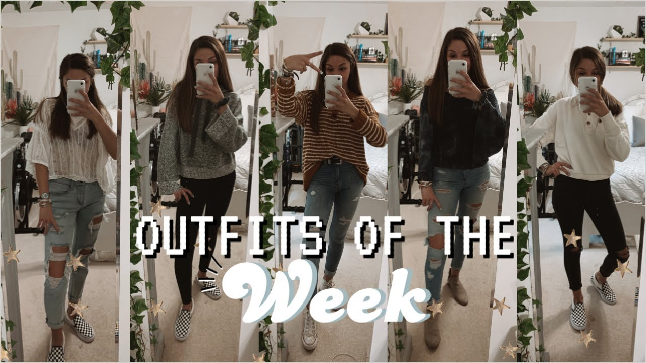 [VIDEO] – my outfits of the week! (what I wear to school)☆RYLEE ELIZABETH☆