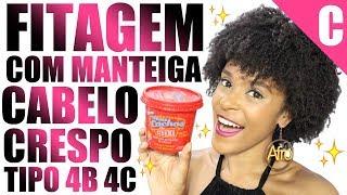 Download lagu Fitagem no Cabelo Crespo 4B 4C Curto com Manteiga Novex Meus Cachos de Cinema Embelleze