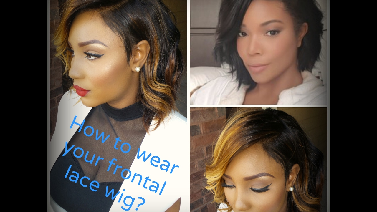 Watch Me Slay This Wigcoupe Inspiree Par Gabrielle Union Youtube