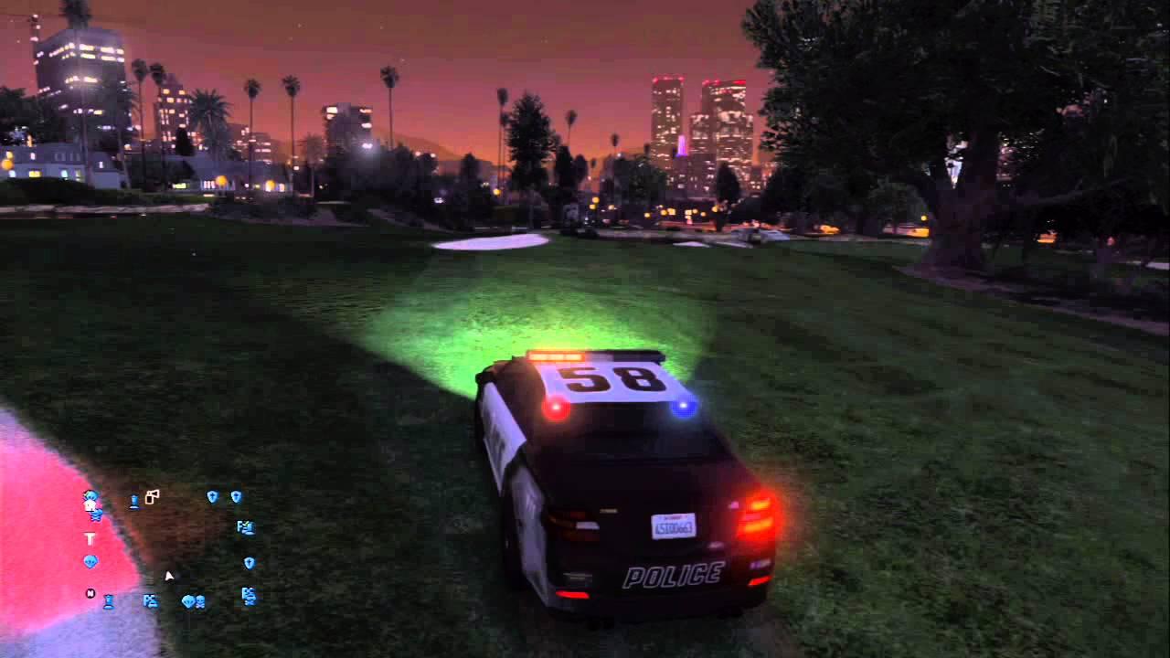 police siren gta 5