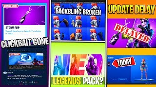 *NEU* Fortnite: 9.20 Update Delay, Wilde Skin Broken, Clickbait ENDING, Neo Legends Pack & More!