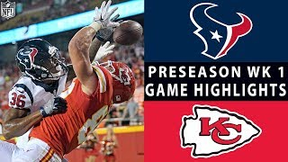Texans vs. Chiefs Highlights | NFL 2018 Preseason Week 1