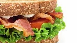 Open Face Bacon Mushroom Melt - Sandwich Recipes
