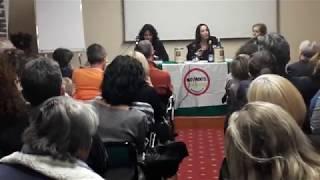 Conferenza a tema SALUTE e VACCINAZIONE PEDIATRICA con PAOLA TAVERNA (M5S)