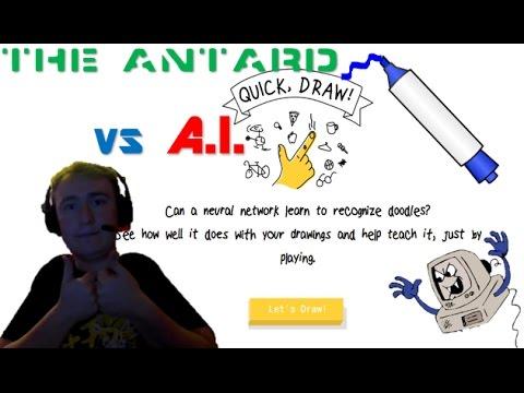 QUICK DRAW #1 I AM AN ARTIST!!