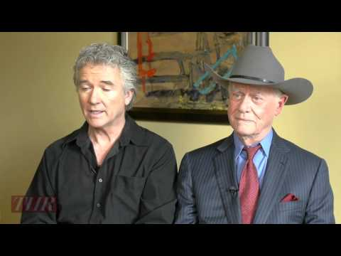 Larry Hagman and Patrick Duffy on Reuniting for 'Dallas'