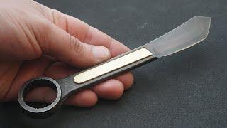 Knife Making - Little Wrench Knife