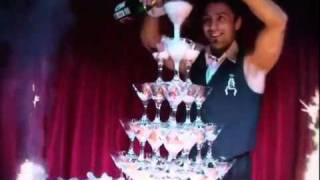 горка из шампанского.mp4