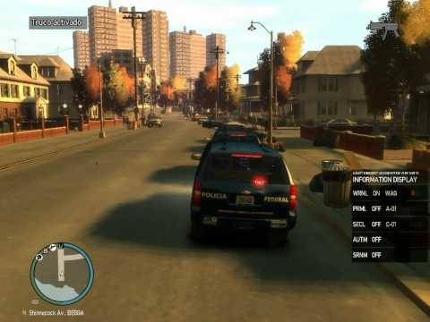 gta 4 policia federal chevrolet tahoe Videos De Viajes