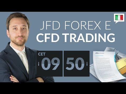 JFD Forex e CFD Trading per il 22.05.2018 Italia