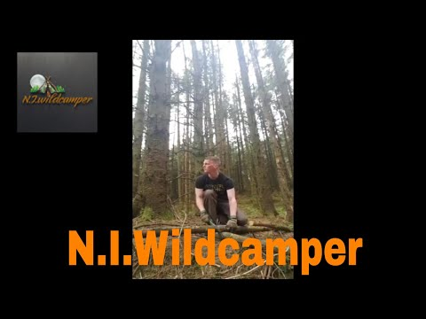 My First Solo Wild Camp In Northern Ireland At Campmagic!