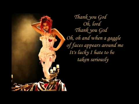 Thank God I'm Pretty - Emilie Autumn (with lyrics