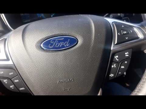 2016 Ford Fusion SE start up engine and full tour