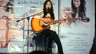 Baby You Are Live Julie Anne San Jose At Sm Nova #japsalbumtour