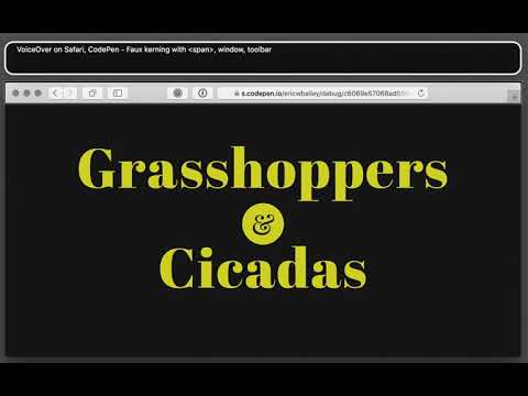 Keeping track of letter-spacing, some guidelines   CSS-Tricks