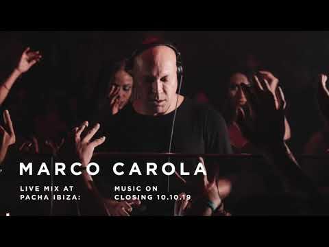 Marco Carola - Music On Closing 10.10.19 - Live MIx At Pacha Ibiza