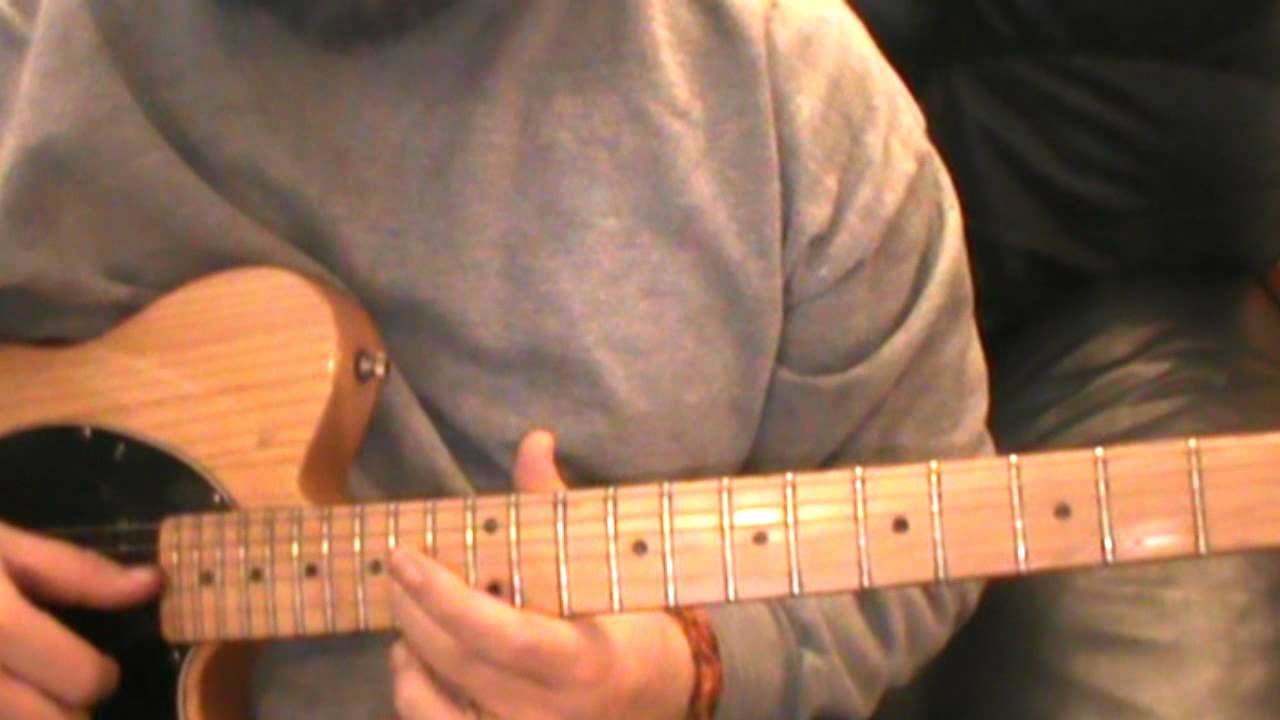 Guitar Lesson For Roger Poncho And Lefty Solo Youtube