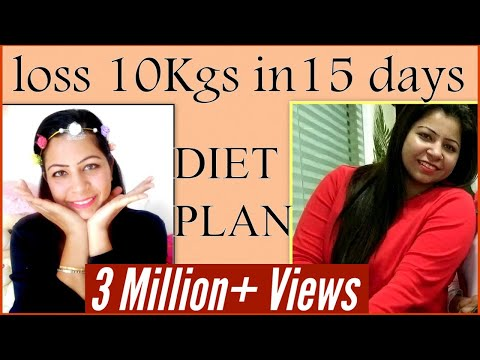 How to Lose Weight Fast 10 Kgs | Full Day Weight Loss Diet/Meal Plan to Loss Weight | Fat to Fab
