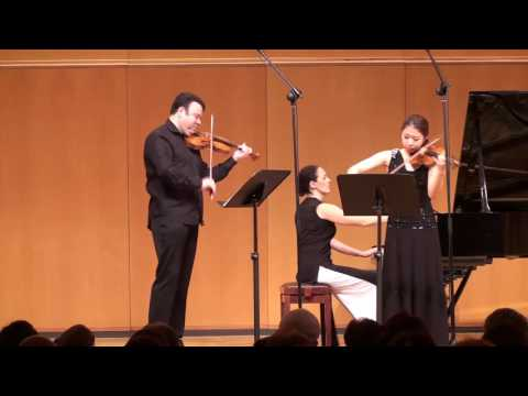 Vadim Gluzman and Julia Hwang; Moszkowski Suite for 2 violins
