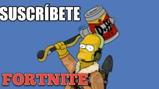 The Simpsons version (FORTNITE, FREE FIRE, PUB).