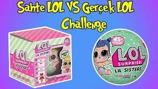 Sahte LOL vs Orjnal LOL Lil Sisters Challenge | 2.Sezon Lol Sürpriz | Bidünya Oyuncak