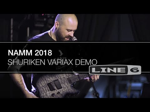 Shuriken Variax - NAMM 2018 Demo