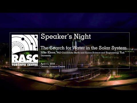 Speaker's Night  -  April 11, 2018